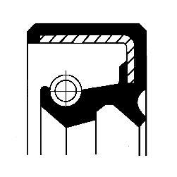 Shaft Seal, crankshaft 12001156B at a discount — buy now!