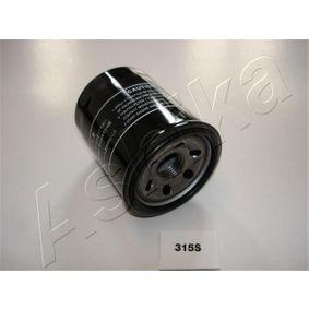 10-03-315 ASHIKA Ölfilter 10-03-315 günstig kaufen