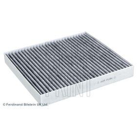 ADV182513 BLUE PRINT Aktivkohlefilter Breite: 235,0mm, Höhe: 30mm, Länge: 255mm Filter, Innenraumluft ADV182513 günstig kaufen