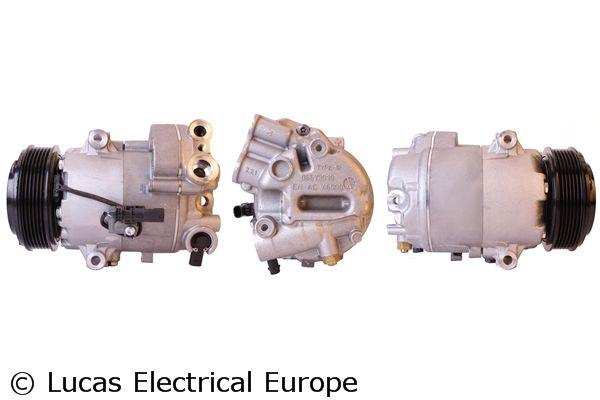 Kompressor Klimaanlage Opel Zafira C Tourer 2015 - LUCAS ELECTRICAL ACP01001 (Riemenscheiben-Ø: 109mm)