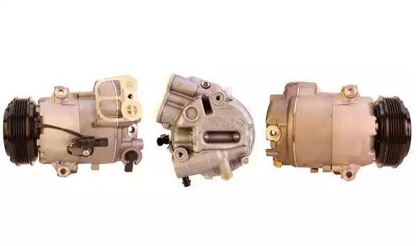 Kompressor Klimaanlage OPEL Zafira Life (K0) 2021 - LUCAS ELECTRICAL ACP01006 (Riemenscheiben-Ø: 110mm)