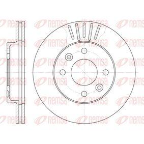 BDM645020 REMSA Vorderachse, belüftet Ø: 238mm, Lochanzahl: 4, Bremsscheibendicke: 20mm Bremsscheibe 6080.10 günstig kaufen