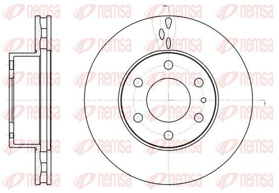 REMSA Brake Disc 61062.10