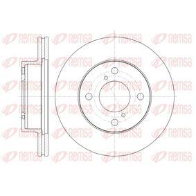 BDM758620 REMSA Vorderachse, belüftet Ø: 230,8mm, Lochanzahl: 4, Bremsscheibendicke: 20mm Bremsscheibe 61371.10 günstig kaufen
