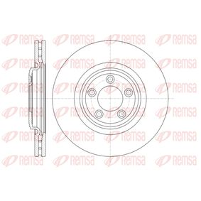 BDM757720 REMSA Vorderachse, belüftet Ø: 326mm, Lochanzahl: 5, Bremsscheibendicke: 30mm Bremsscheibe 61374.10 günstig kaufen