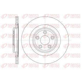 BDM757820 REMSA Hinterachse, belüftet Ø: 326mm, Lochanzahl: 5, Bremsscheibendicke: 20mm Bremsscheibe 61375.10 günstig kaufen