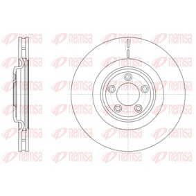 BDM767720 REMSA Vorderachse, belüftet Ø: 354,7mm, Lochanzahl: 5, Bremsscheibendicke: 32mm Bremsscheibe 61511.10 günstig kaufen