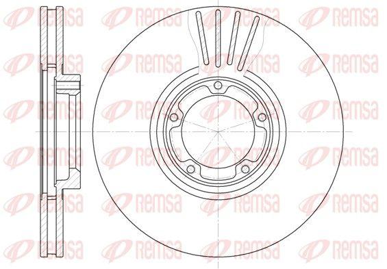 REMSA Спирачен диск 6519.10
