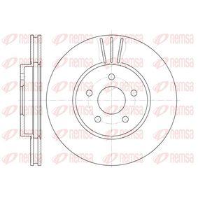 BDM691220 REMSA Vorderachse, belüftet Ø: 300mm, Lochanzahl: 5, Bremsscheibendicke: 24mm Bremsscheibe 6607.10 günstig kaufen