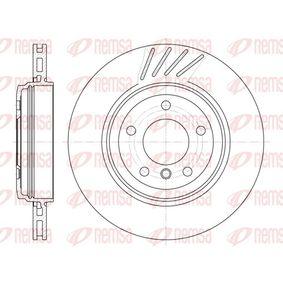 BDM694420 REMSA Hinterachse, belüftet Ø: 319mm, Lochanzahl: 5, Bremsscheibendicke: 22mm Bremsscheibe 6645.10 günstig kaufen