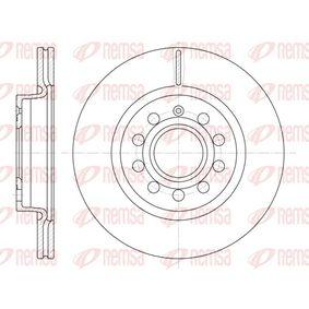 BDM715020 REMSA Eje delantero, ventilado Ø: 279,9mm, Núm. orificios: 9, Espesor disco freno: 22mm Disco de freno 6647.10 a buen precio