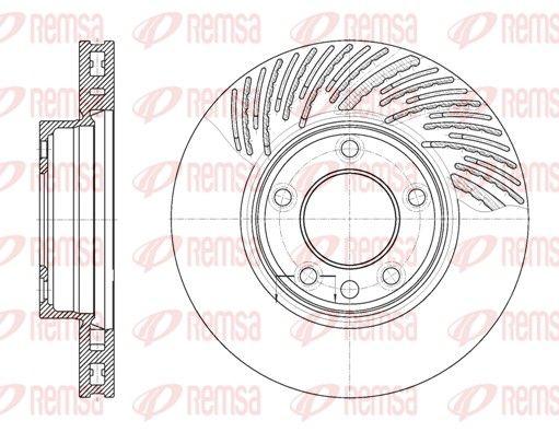 VW Disques de frein d'Origine 6773.11