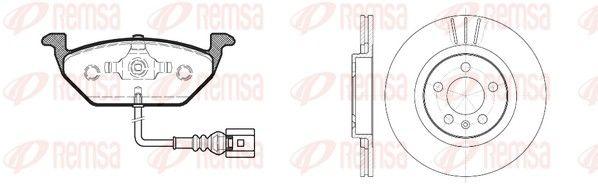 Original IVECO Bremsen Kit 8633.01