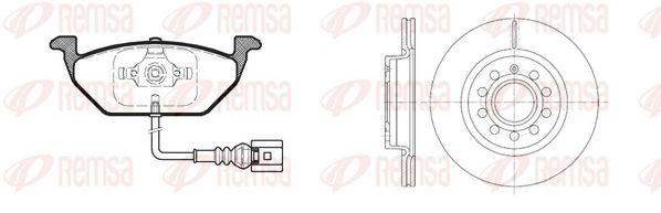 Original JEEP Bremsen Kit 8633.05