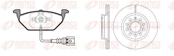 Original AUDI Bremsen Kit 8633.05