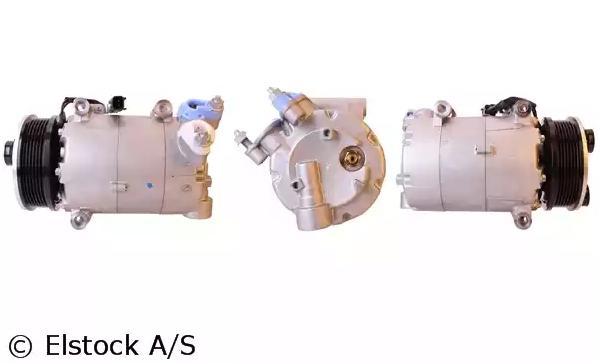 ELSTOCK: Original Kompressor 51-0903 (Riemenscheiben-Ø: 110mm, Anzahl der Rillen: 6)