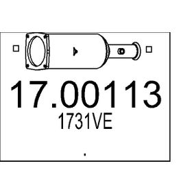 17.00113 MTS Ruß- / Partikelfilter, Abgasanlage 17.00113 günstig kaufen