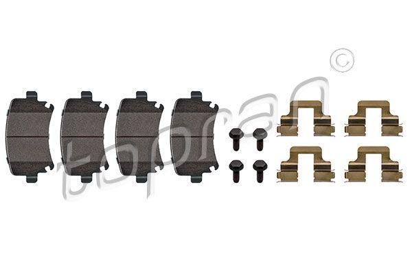 TOPRAN Brake Pad Set, disc brake 110 738