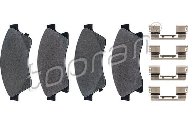 Bremsbelagsatz TOPRAN 208 008