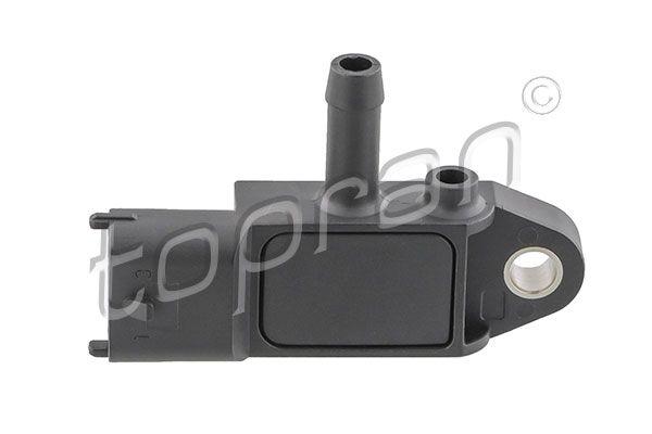 OPEL ASTRA 2014 Differenzdrucksensor - Original TOPRAN 208 016 Pol-Anzahl: 3-polig