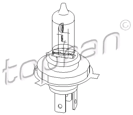 OE Original Scheinwerferlampe 104 499 TOPRAN