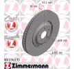 OE Original Bremsscheibe 100.3363.75 ZIMMERMANN