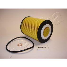 10-ECO012 ASHIKA Filtereinsatz Innendurchmesser: 38mm, Ø: 83mm Ölfilter 10-ECO012 günstig kaufen
