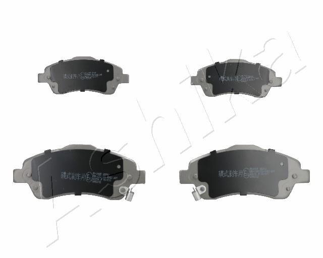 Brake pad set disc brake 50-02-206 ASHIKA — only new parts