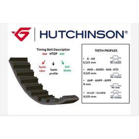 118HTDP254 HUTCHINSON Zähnez.: 118 Breite: 25,40mm Zahnriemen 118 HTDP 25.4 günstig kaufen