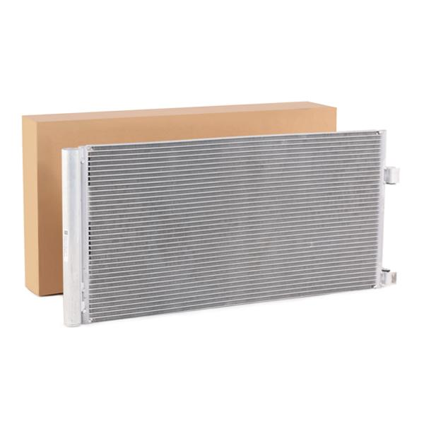 RENAULT LAGUNA 2015 Kondensator Klimaanlage - Original RIDEX 448C0220 Kältemittel: R 134a
