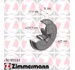 Спирачен барабан 470.1855.00 ZIMMERMANN — само нови детайли