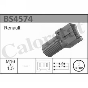 BS4574 CALORSTAT by Vernet Anschlussanzahl: 3 Bremslichtschalter BS4574 günstig kaufen