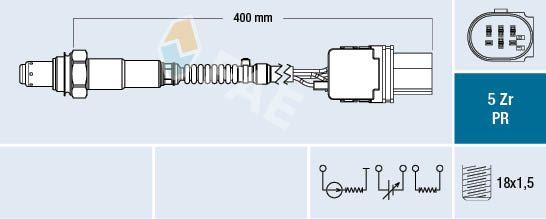 Acheter Capteur d'oxygène FAE 75061 à tout moment