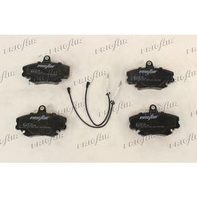 PD09.502 FRIGAIR Vorderachse Höhe: 65mm, Breite: 100mm, Dicke/Stärke: 18mm Bremsbelagsatz, Scheibenbremse PD09.502 günstig kaufen