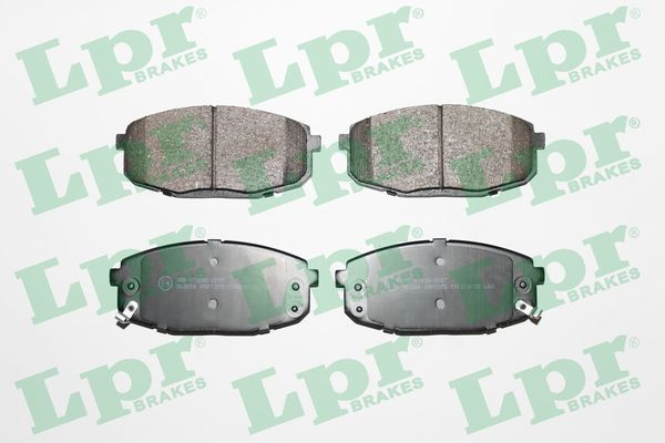 05P1375 LPR Höhe: 58mm, Breite: 130,1mm, Dicke/Stärke: 16,5mm Bremsbelagsatz, Scheibenbremse 05P1375 günstig kaufen