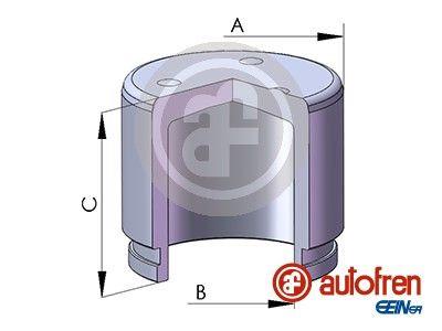 AUTOFREN SEINSA: Original Kolben, Bremssattel D025134 ()