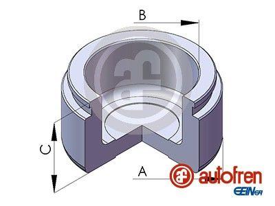 AUTOFREN SEINSA: Original Kolben, Bremssattel D025579 ()