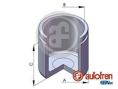 AUTOFREN SEINSA: Original Kolben, Bremssattel D02558 ()