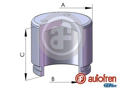 AUTOFREN SEINSA: Original Kolben, Bremssattel D02572 ()