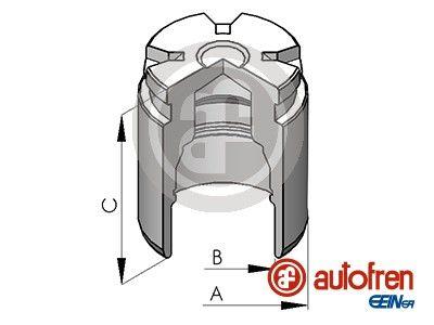 AUTOFREN SEINSA: Original Kolben, Bremssattel D02578 ()
