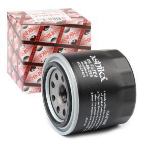 Αγοράστε 10-05-599 ASHIKA Βιδωτό φίλτρο Ø: 80mm Φίλτρο λαδιού 10-05-599 Σε χαμηλή τιμή