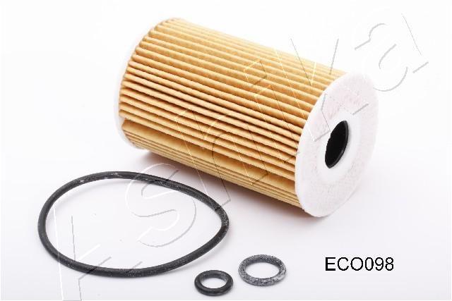 Achat de 10-ECO098 ASHIKA Cartouche filtrante Diamètre intérieur: 21mm, Ø: 65mm, Longueur: 101mm, Longueur: 101mm Filtre à huile 10-ECO098 pas chères