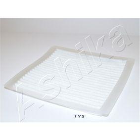 Köp och ersätt Filter, kupéventilation ASHIKA 21-TY-TY5