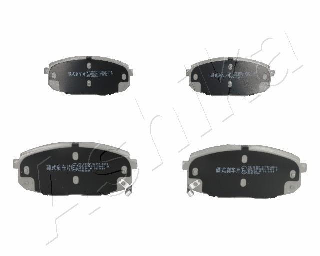 Brake pad set 50-K0-009 ASHIKA — only new parts