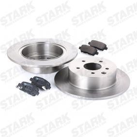 SKBK1090279 Bremsensatz, Scheibenbremse STARK SKBK-1090279 - Große Auswahl - stark reduziert