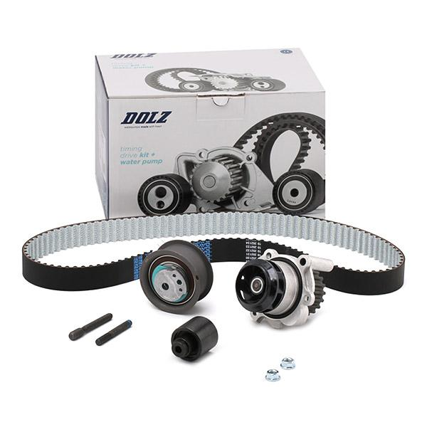 DOLZ Water pump and timing belt kit KD033