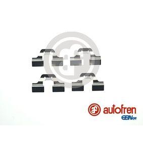 priedų komplektas, diskinių stabdžių trinkelės D42342A su puikiu AUTOFREN SEINSA kainos/kokybės santykiu