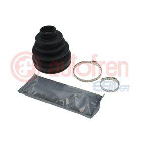 D8611 AUTOFREN SEINSA getriebeseitig Höhe: 94mm, Innendurchmesser 2: 25,5mm, Innendurchmesser 2: 85,5mm Faltenbalgsatz, Antriebswelle D8611 günstig kaufen