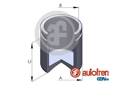 AUTOFREN SEINSA: Original Kolben, Bremssattel D025433 ()