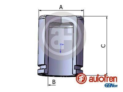 AUTOFREN SEINSA: Original Kolben, Bremssattel D025435 ()